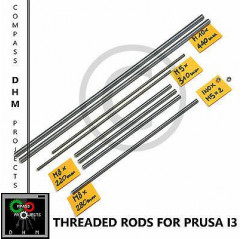 Barre filettate Prusa i3 - stainless steel threaded rods M5/8/10 - Reprap 3D