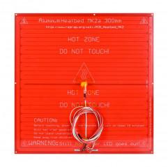 Piatto riscaldato PCB Heatbed MK2a 300*300mm rosso cablato