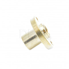 Trapezgewindemutter Flansch 8 mm - pitch 2mm - principle 4 Trapezschrauben T8 05050301 DHM