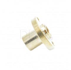 Trapezgewindemutter Flansch 8 mm - pitch 2mm - principle 1 Trapezschrauben T8 05050401 DHM