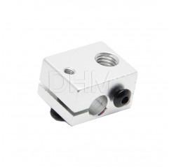 Aluminiumblock V6 Blocco fusore 10020105 DHM