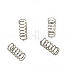 Galvanized spring 9x22 mm - 4 pieces Molle 11040201 DHM