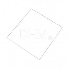 Hochtemperaturglas Dicke 3 mm 15x15 cm Vetri alte temperature 11020101 DHM