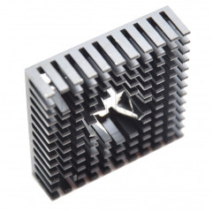 Aluminium-Kühlkörper 40*40*11mm Parti per schede 09030201 DHM