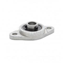 Flanschlager Aluminium Druckguss KFL08 Kugellagereinheit mit Halterung 04030201 DHM
