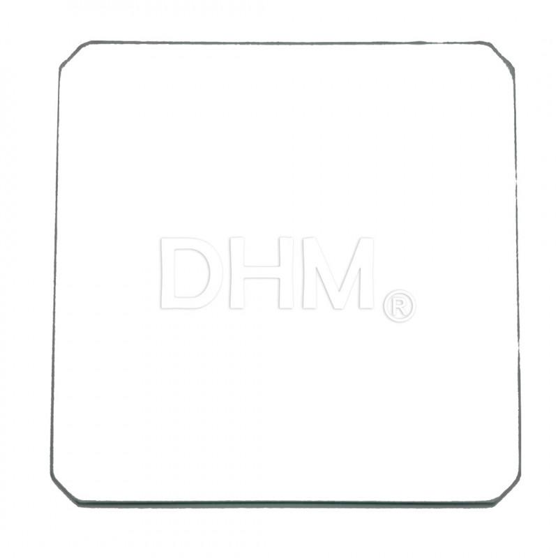 Hochtemperaturglas Dicke 3 mm 21.5x21.5 cm Vetri alte temperature 11020103 DHM