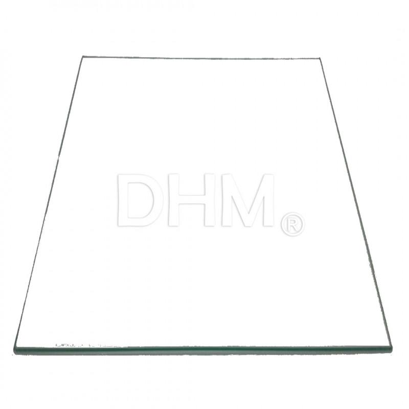 Hochtemperaturglas Dicke 3 mm 20x30 cm Vetri alte temperature 11020105 DHM
