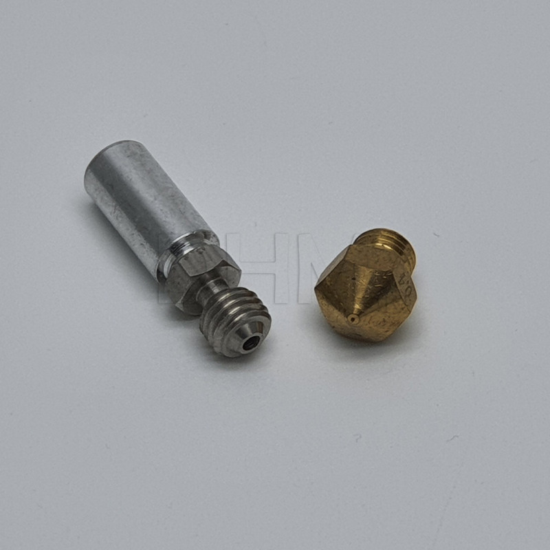 Messingdüse MK10 Ø 0,4 mm Filamento 1.75mm 10041002 DHM