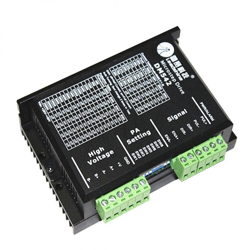 Schrittmotortreiber DM542 Act 4.2a,18 - 50vdc, 128mic per nema 23 Driver 06040202 DHM