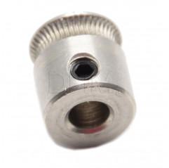MK7 drive gear extruder pulley 12mm shaft - 1.75/3.00 mm filament - 3D printer Trascinafilo acciaio inox 10070202 DHM