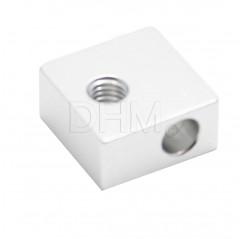 Aluminiumblock 20x20x10 mm Blocco fusore 10020103 DHM
