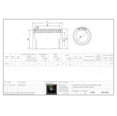 Linearlager LM16UU Linearbuchsen geschlossen 04050108 DHM
