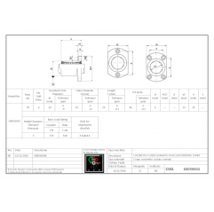 Linearlager mit ovalen Flansch LMH10UU Lineare Buchsen mit ovalem Flansch 04050602 DHM