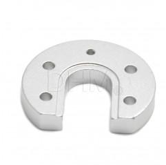 V5/V6 runde Aluminiumhalterung Montante estrusore 10080303 DHM