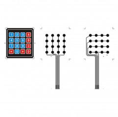 4x4 Folientastatur 16 Tasten Moduli Arduino 08020215 DHM