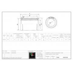 Linearlager LM35UU Linearbuchsen geschlossen 04050112 DHM