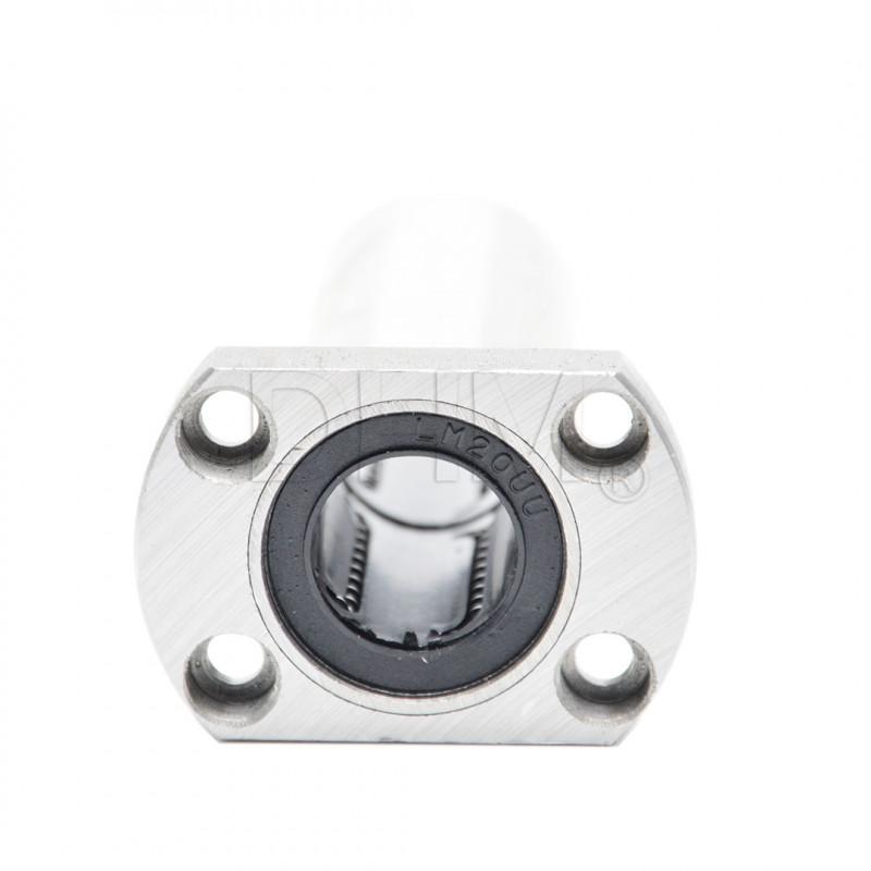 Linearlager mit ovalen Flansch lange Ausführung LMH20LUU Lineare Buchsen mit ovalem Flansch 04050705 DHM