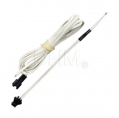 Wired thermistor 100kohm B3950 with connector Termocoppie 10050105 DHM