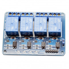 Relaismodul 4 channels 5V DC - 250V AC model SRD-05VDC-SL-C Relè 09050203 DHM