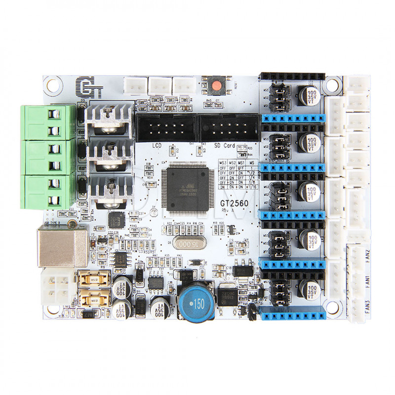 Board GT2560 Schede di controllo 08010109 DHM
