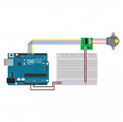 Schrittmotor 28BYJ-48 Moduli Arduino 08020218 DHM