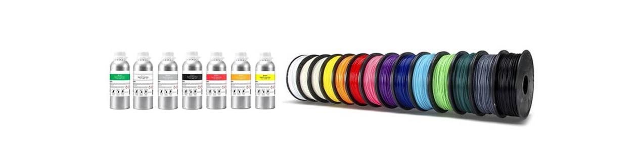 Consumabili stampa 3D: filamenti e resine | Compass DHM projects