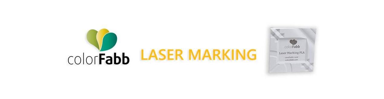 Laser Marking PLA Colorfabb